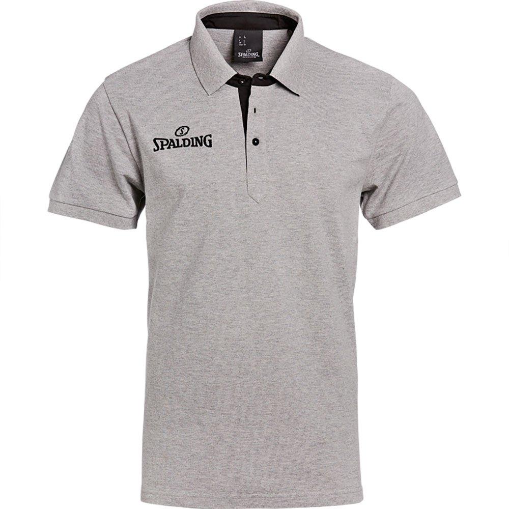 Spalding Polo Manche Courte Prime S Grey Mélange