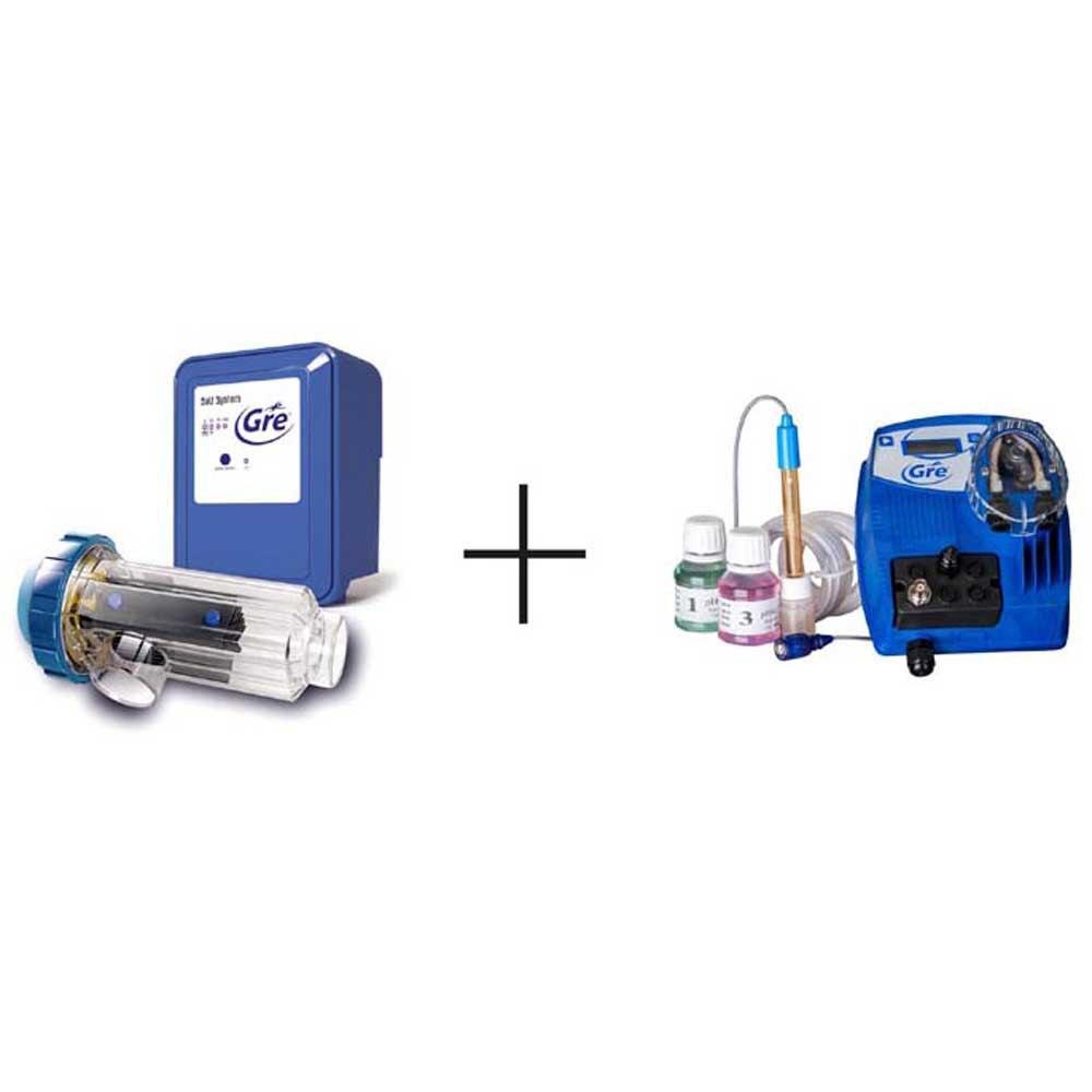 Accessories and Parts Salt Clorinator Electrolysis And Ph Controp Up To 100 M3 Pools