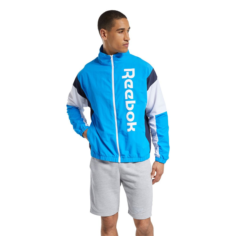 Reebok Te Ll Woven Jacket M Horizon Blue