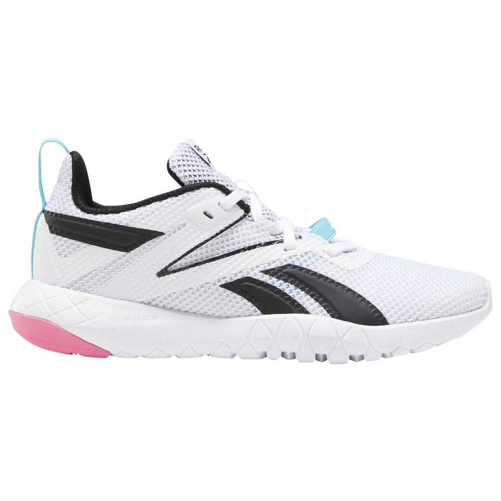 Reebok Mega Flexagon EU 37 1/2 White / Neon Blue / Solar Pink