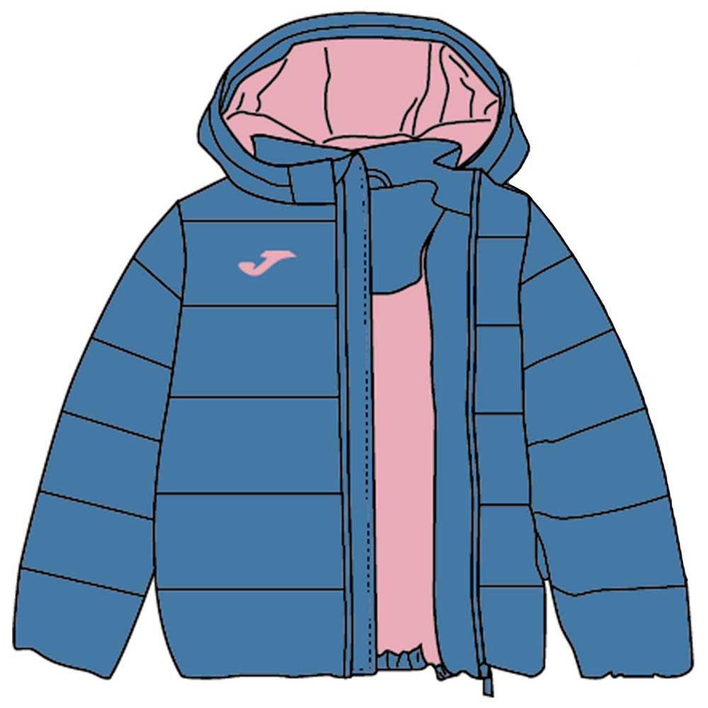 Joma Anorak XXXXS Blue / Light Pink