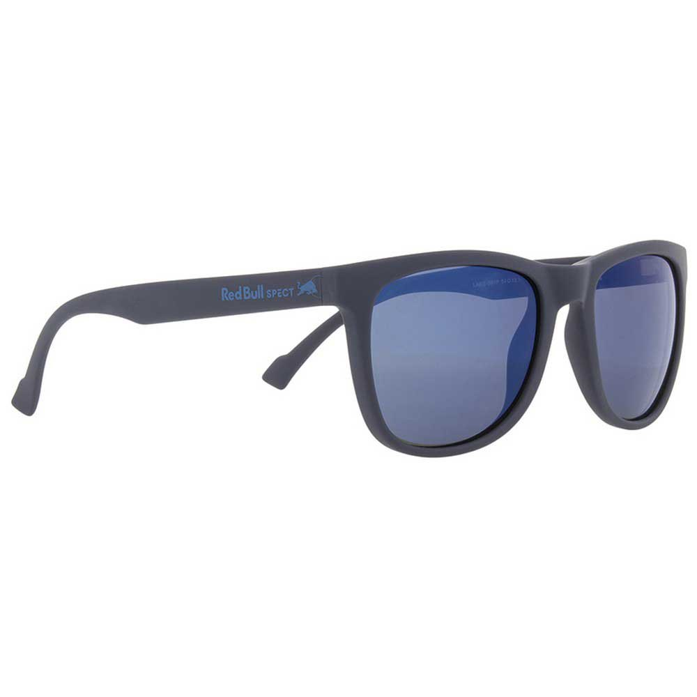 Red Bull Leap Polarized Smoke With Blue Mirror Polarized/CAT3 Dark Blue