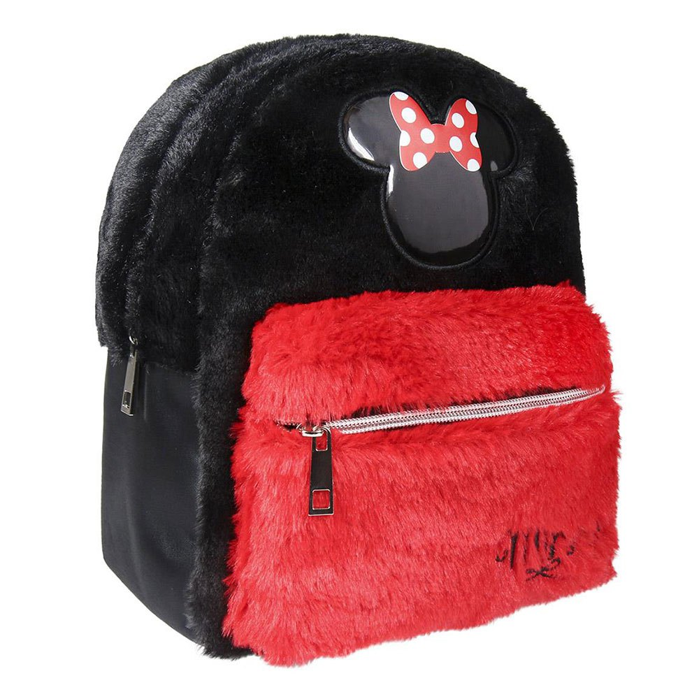 Cerda Group Casual Hair Minnie One Size Black / Red