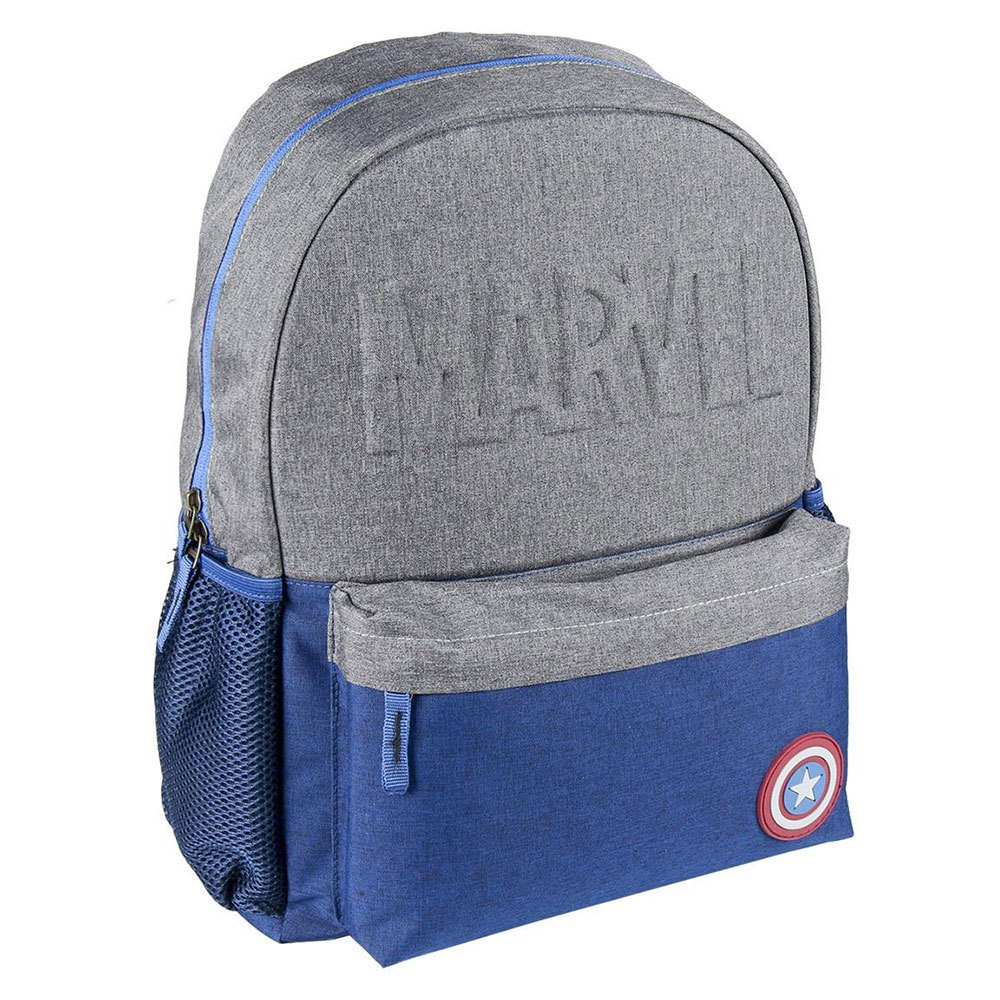 Cerda Group High School Avengers Captain America One Size Grey / Blue
