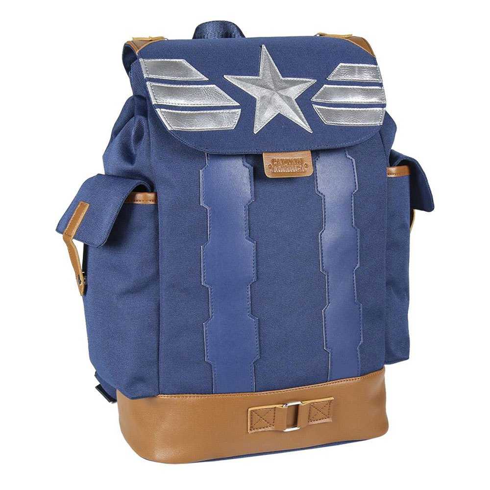 Cerda Group Casual Travel Captain America One Size Blue / Brown