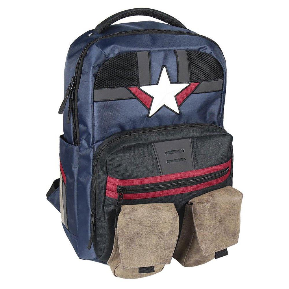 Cerda Group Casual Travel Captain America One Size Multicolor