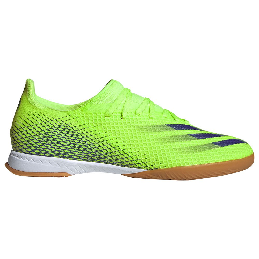 Adidas Chaussures Football Salle X Ghosted.3 In EU 44 Signal Green / Energy Ink F17