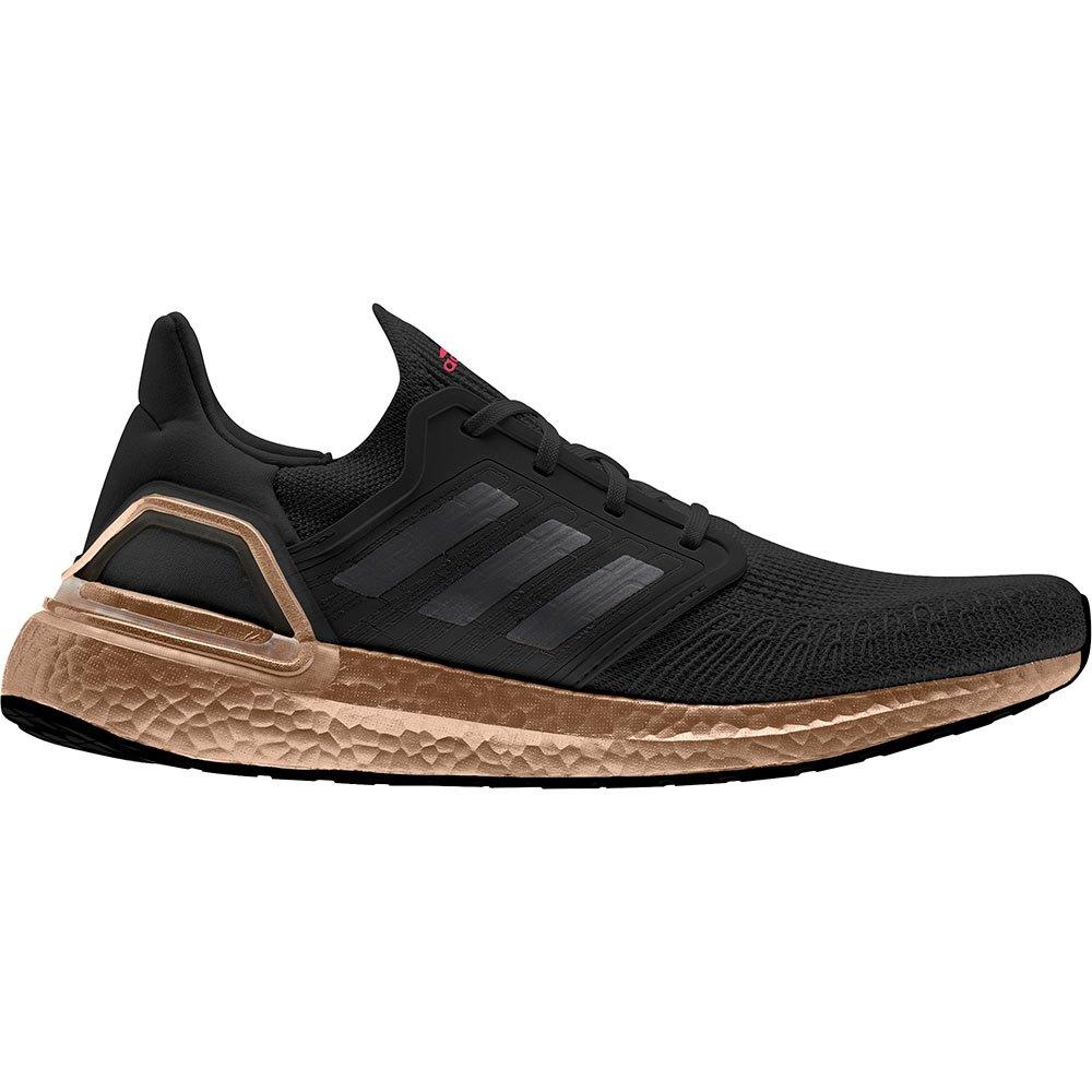 Adidas Ultraboost 20 EU 44 Core Black / Grey Five / Signal Pink
