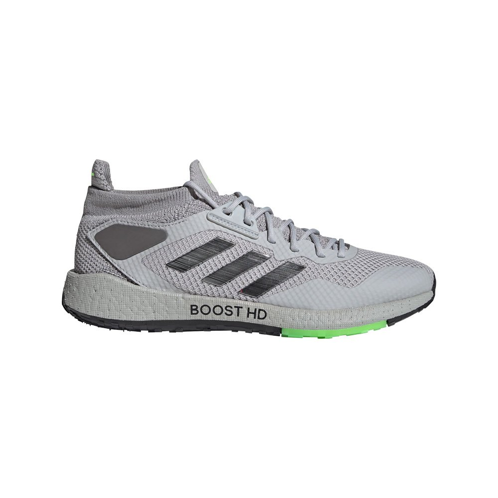 Adidas Pulseboost Hd EU 42 2/3 Grey Two F17 / Core Black / Signal Green