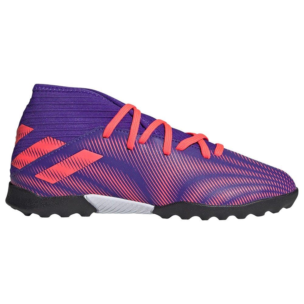Adidas Nemeziz.3 Tf Football Boots EU 34 Energy Ink F17 / Signal Pink / Signal Green