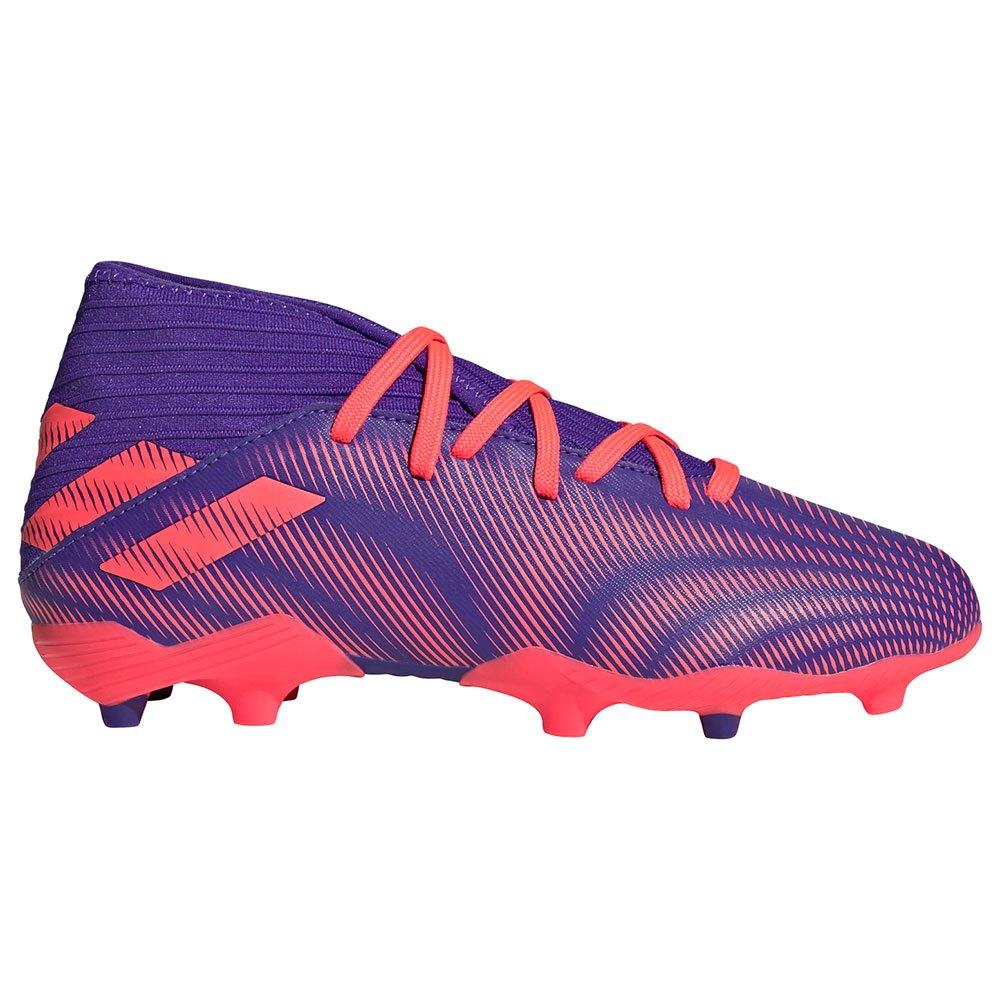 Adidas Chaussures Football Nemeziz.3 Fg EU 35 Energy Ink F17 / Signal Pink / Signal Green