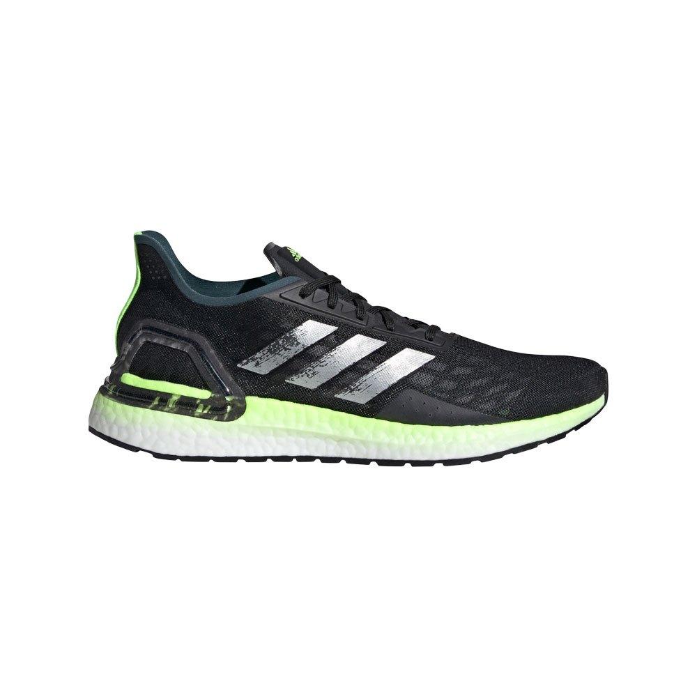 Adidas Ultraboost Pb EU 42 Core Black / Silver Metalic / Signal Green
