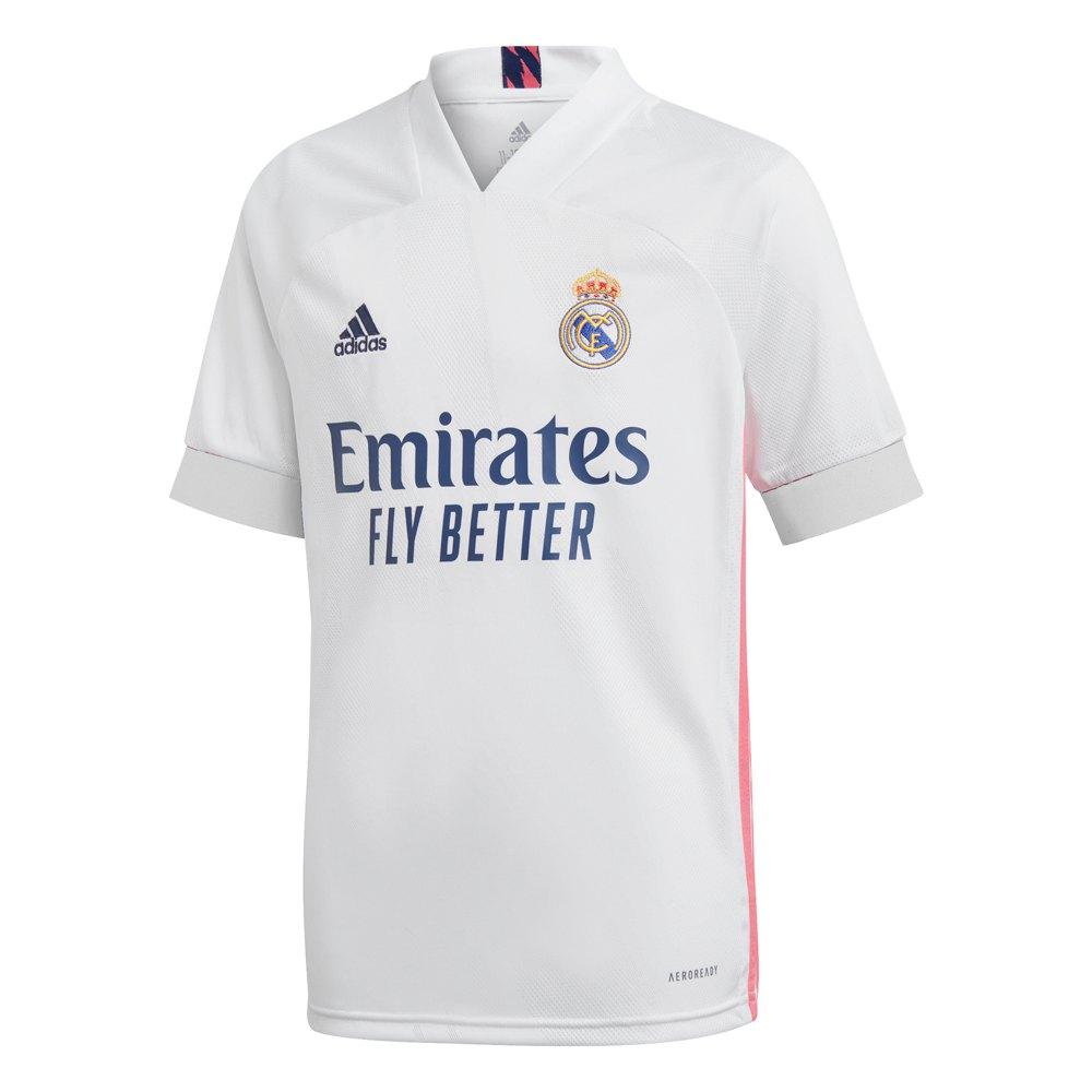 Adidas Real Madrid Home 20/21 Junior 152 cm White