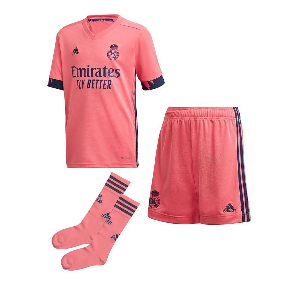Adidas Real Madrid Away Mini 20/21 110 cm Pink