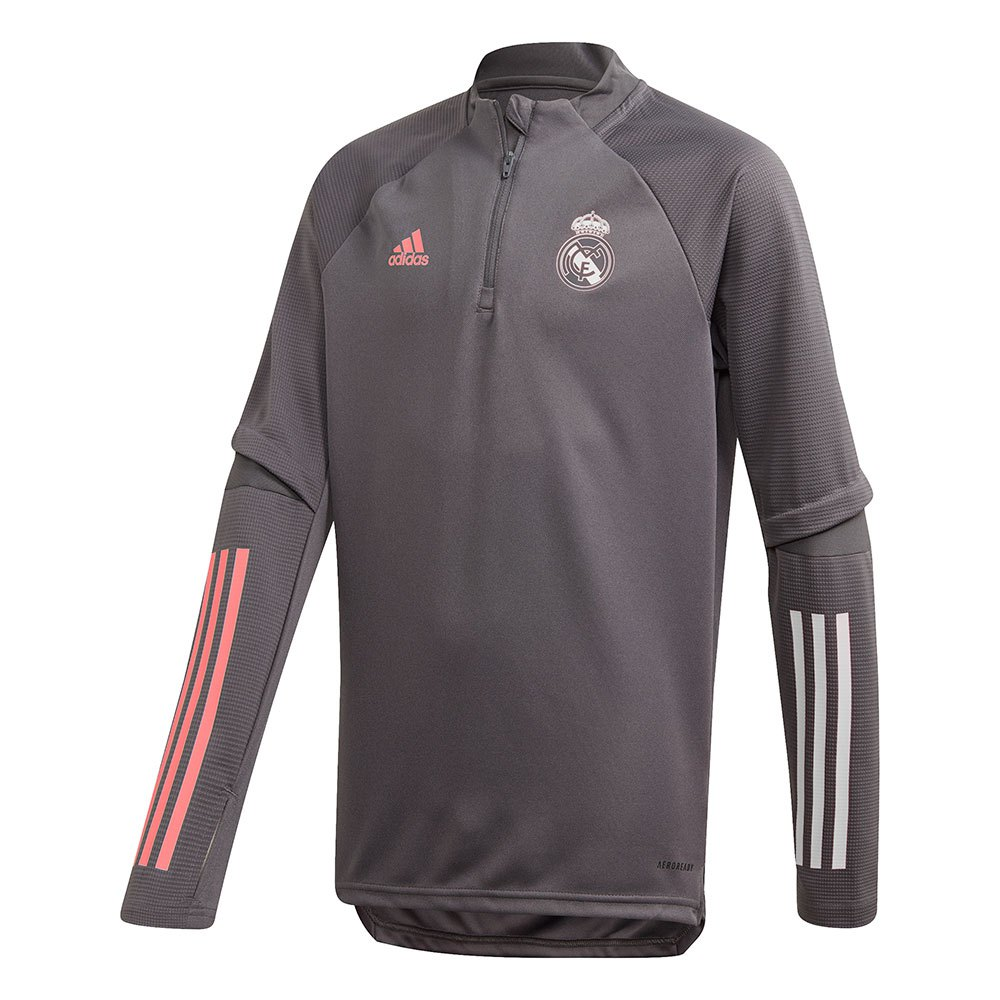 Adidas Real Madrid Training Top Junior 128 cm Grey Five