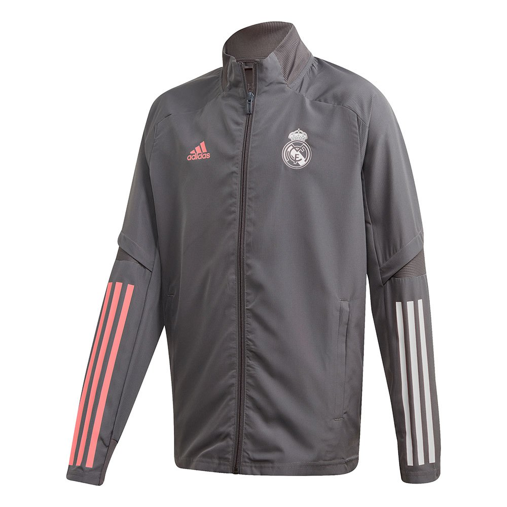 Adidas Real Madrid 20/21 Junior 164 cm Grey Five