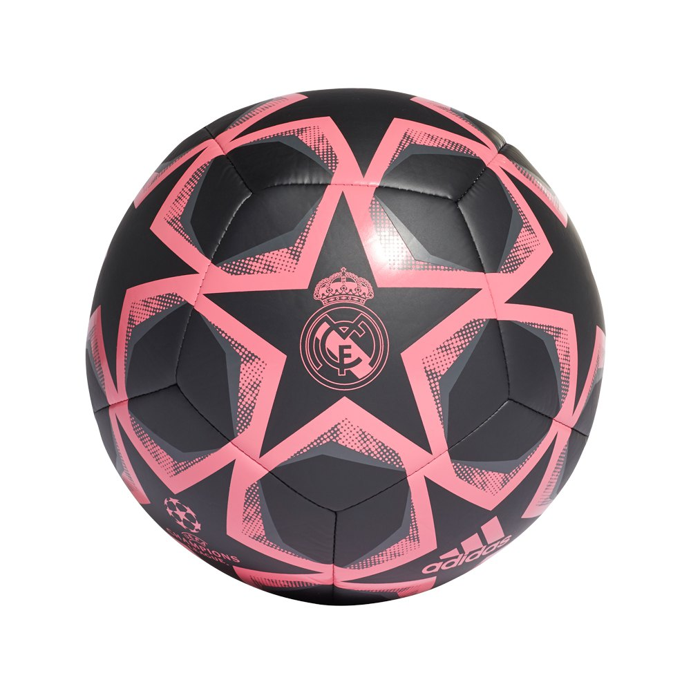 Adidas Finale 20 Club Real Madrid Football Ball 5 Black / Signal Pink / Grey Six
