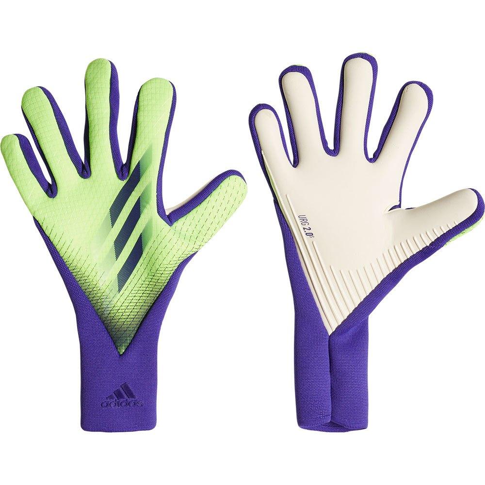 Adidas X Pro Goalkeeper Gloves 10 Signal Green / Energy Ink F17 / Solar Green