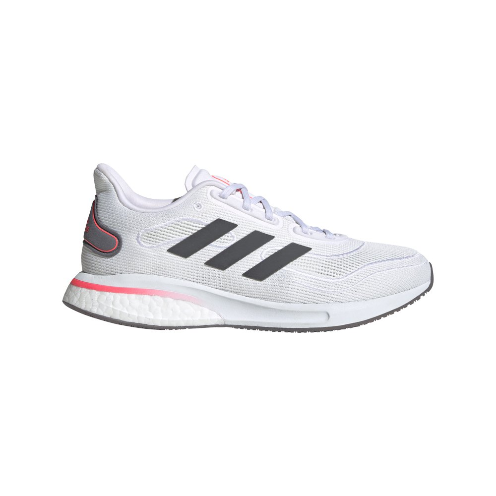 Adidas Supernova EU 42 Ftwr White / Grey Five / Signal Pink