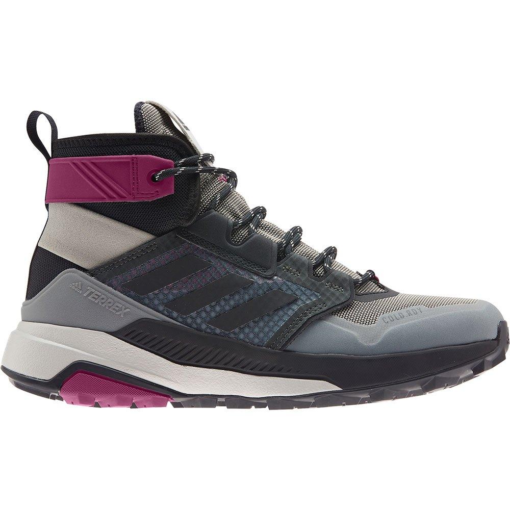 Adidas Bottes Randonnée Terrex Trailmaker Mid EU 38 Metal Grey / Core Black / Power Berry