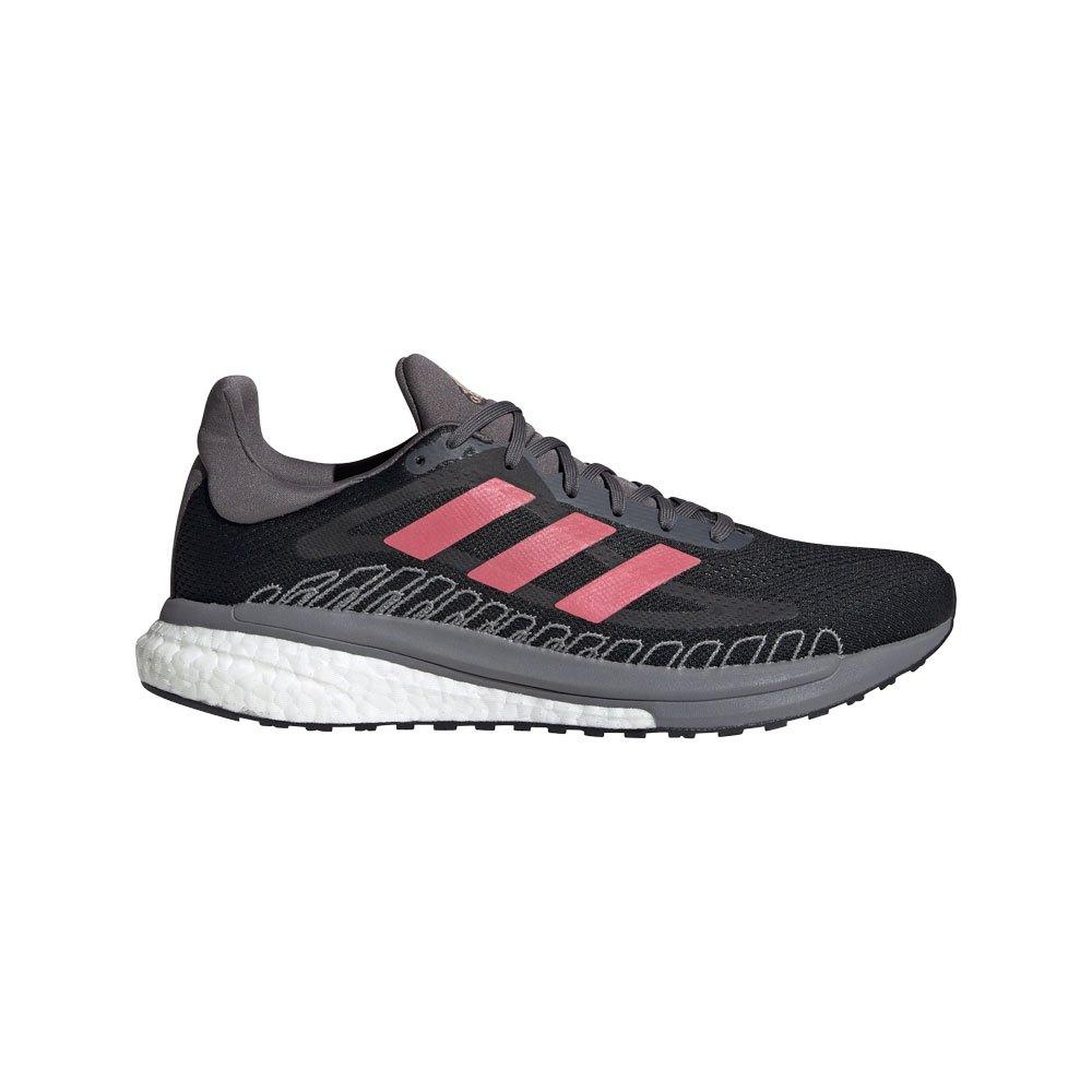 Adidas Solar Glide St 3 EU 40 Core Black / Signal Pink / Copper Metalic