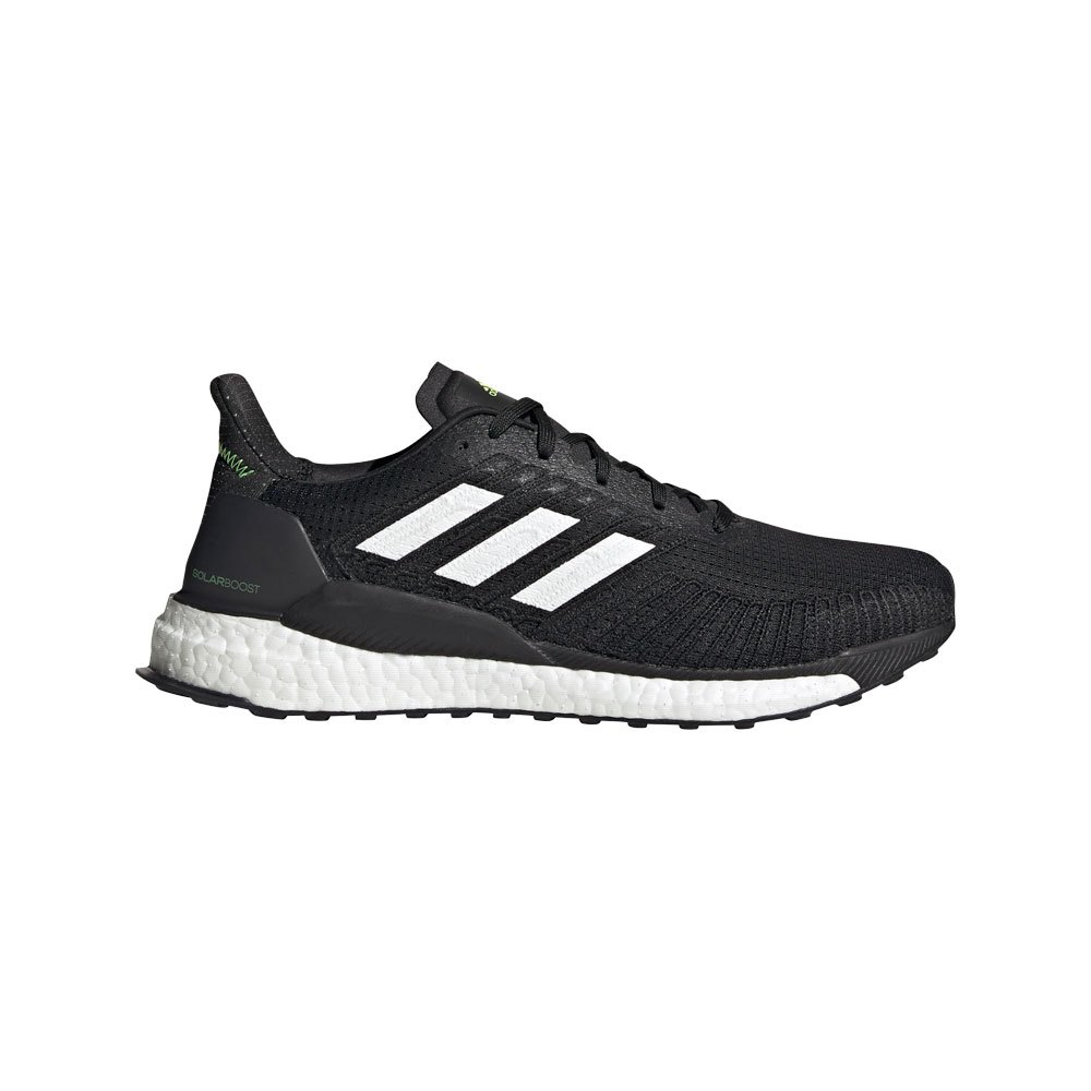 Adidas Solar Boost 19 EU 43 1/3 Core Black / Ftwr White / Signal Green