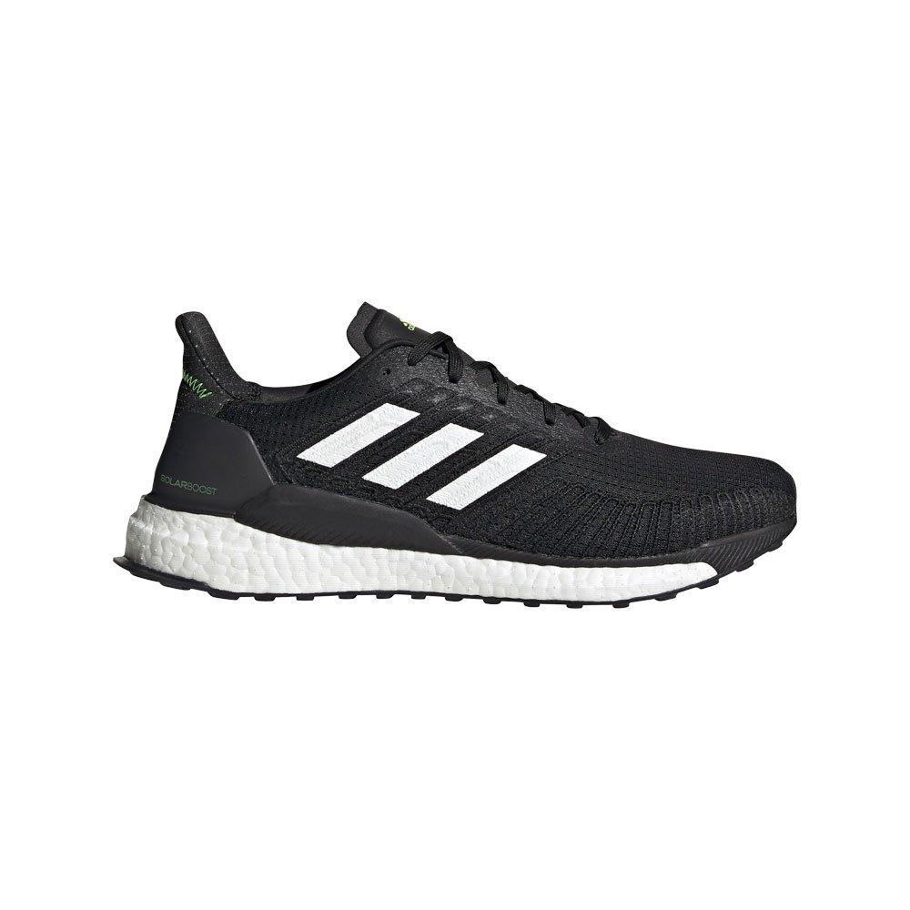 Adidas Solar Boost 19 EU 44 2/3 Core Black / Ftwr White / Signal Green
