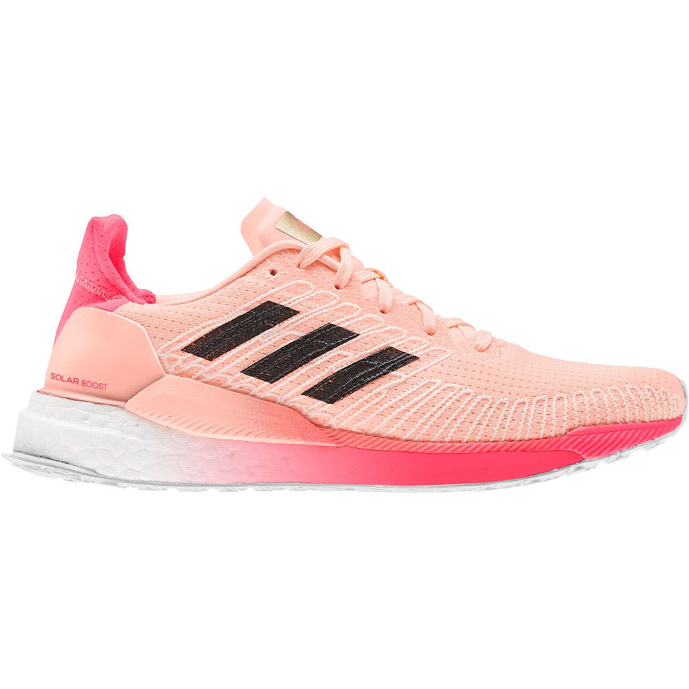 Adidas Solar Boost 19 EU 42 2/3 Light Flash Orange / Core Black / Signal Pink