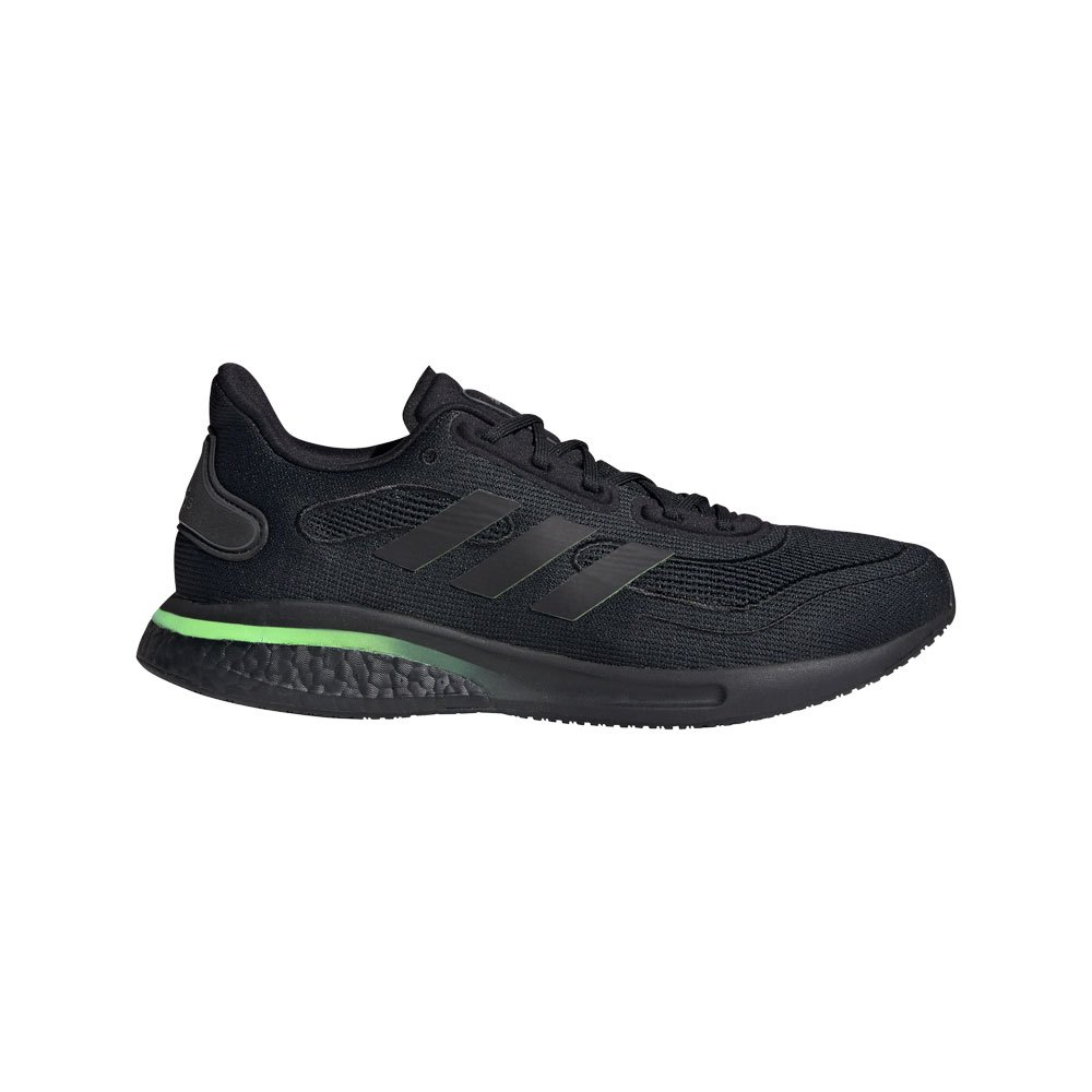 Adidas Supernova EU 39 1/3 Core Black / Signal Green