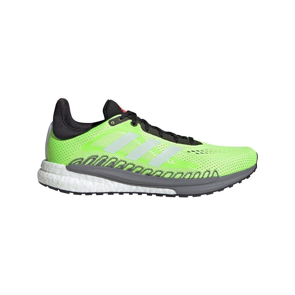 Adidas Solar Glide 3 EU 44 2/3 Signal Green / Core White / Core Black