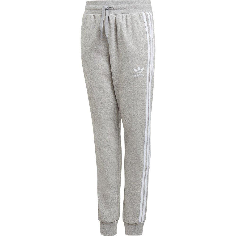 Adidas Originals Trefoils 140 cm Medium Grey Heather / White