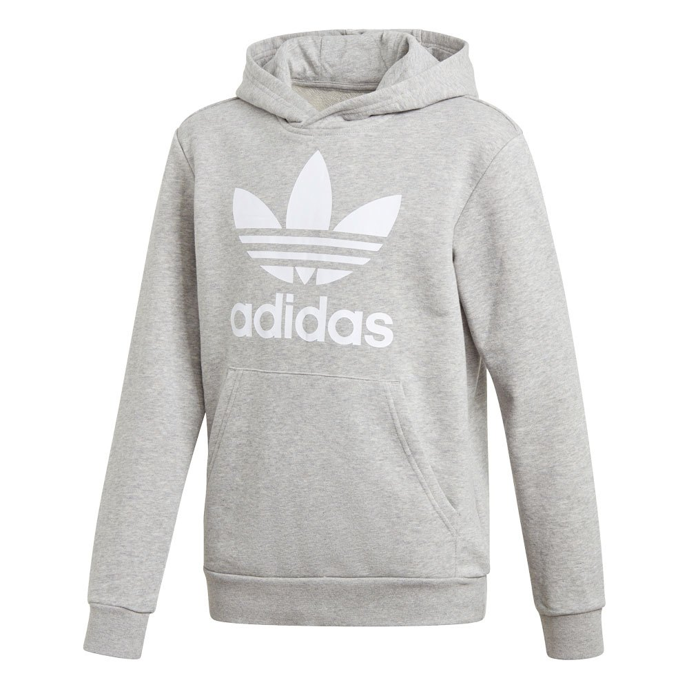 Adidas Originals Trefoil 140 cm Medium Grey Heather / White