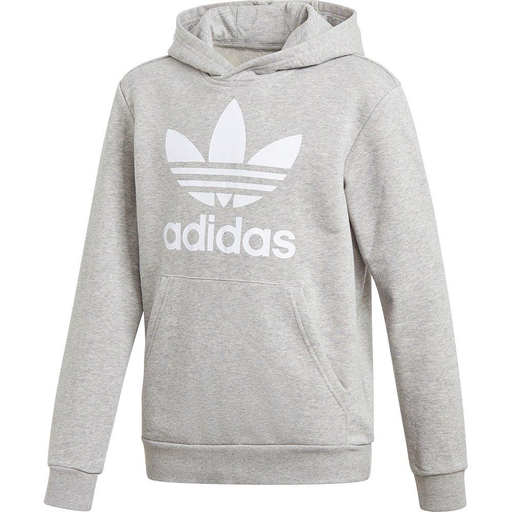 Adidas Originals Trefoil 140 cm Medium Grey Heather / White
