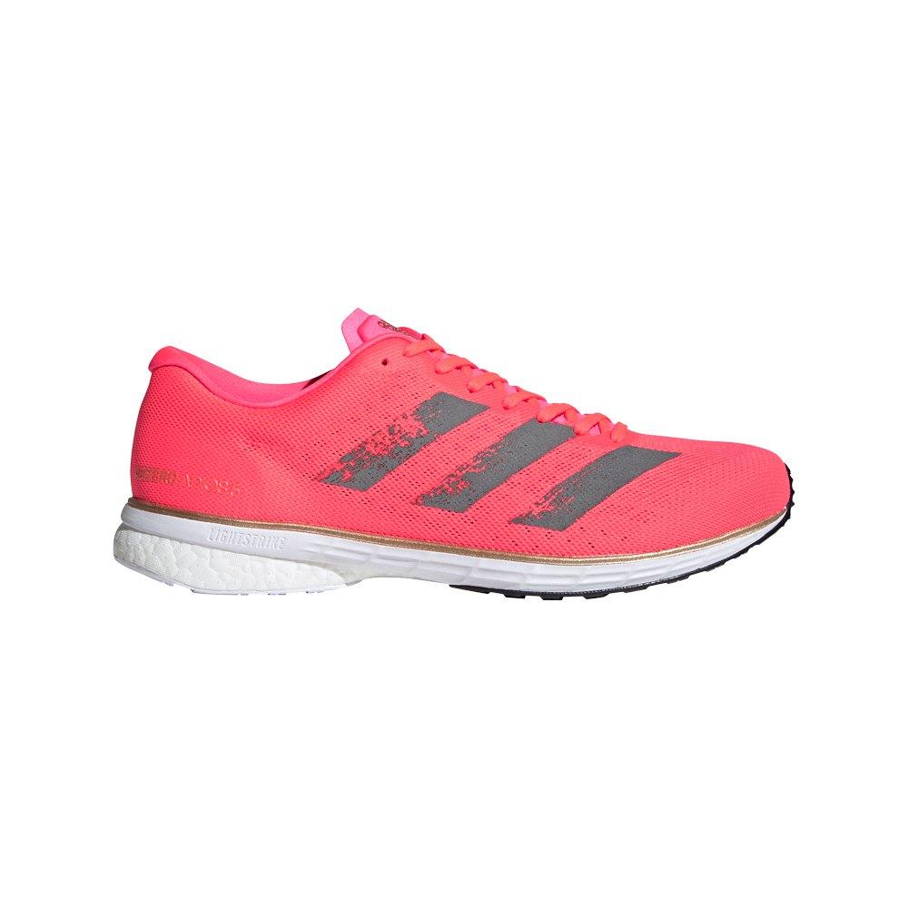 Adidas Adizero Adios 5 EU 42 2/3 Signal Pink / Core Black / Copper Met.