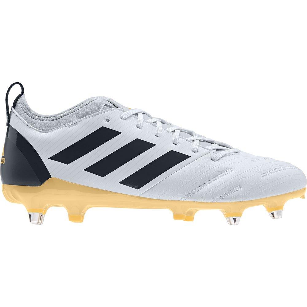 Adidas Malice Elite Sg EU 43 1/3 Crystal White / Grey Six / Orange Tint