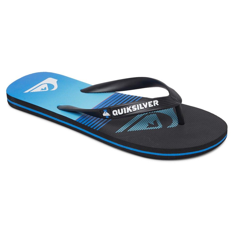 Quiksilver Molo Slab EU 43 Black / Blue / Black