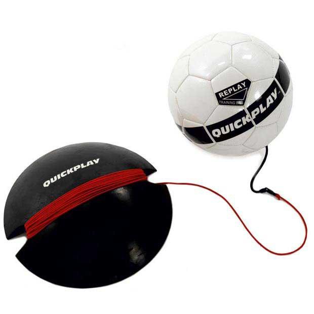 Quickplay Ballon Football Replay 5 Black / White