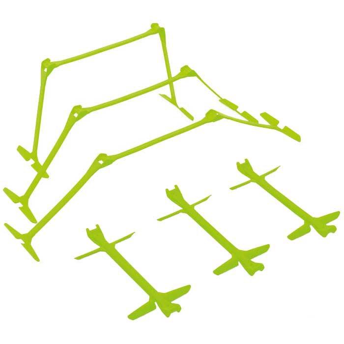 Quickplay Obstacle À Clic Rapide 6 Unités 15-30 cm Green
