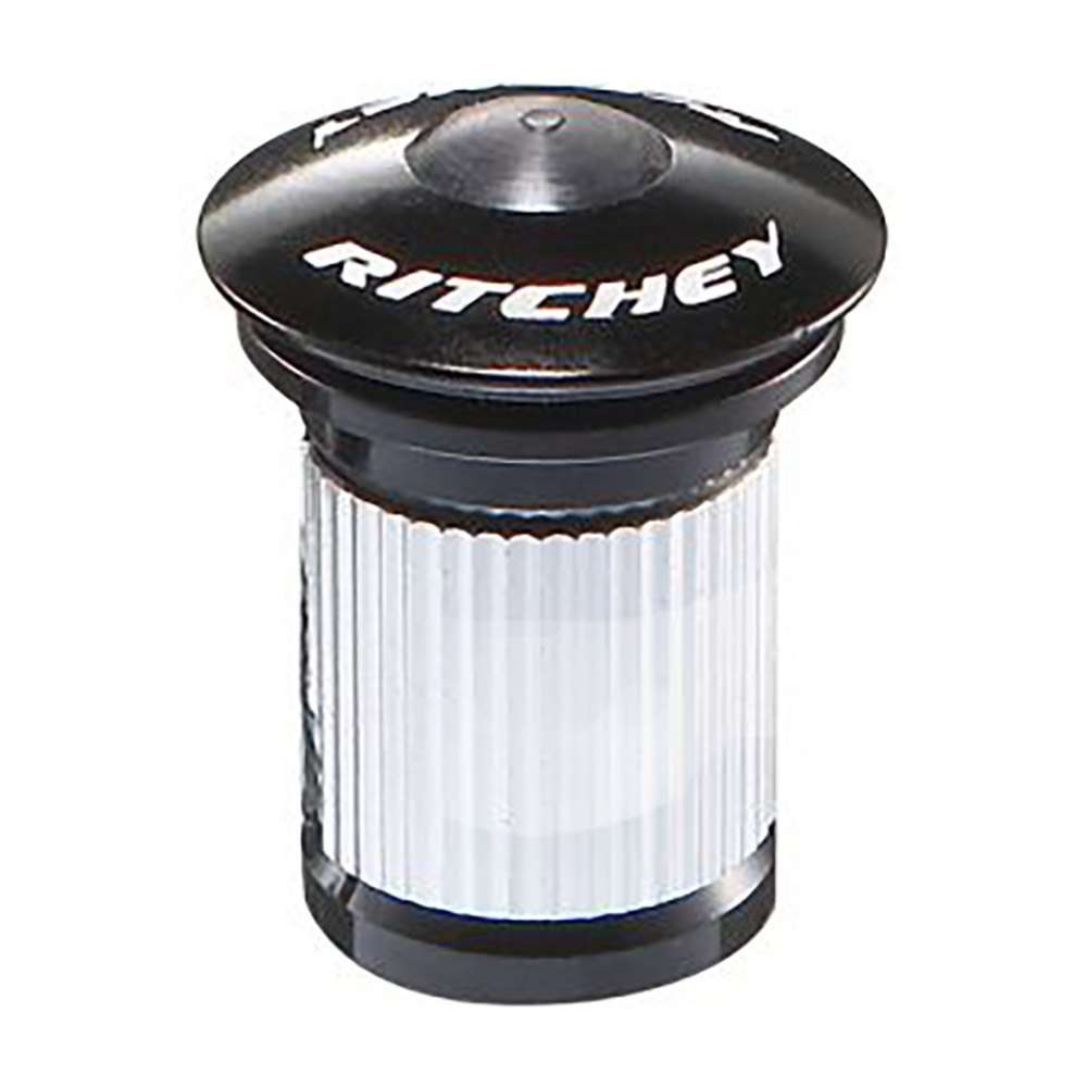 Ritchey Wcs Compression Device With Alloy Cap 1-1/8´´ 1 1/8 Inches Silver / Black