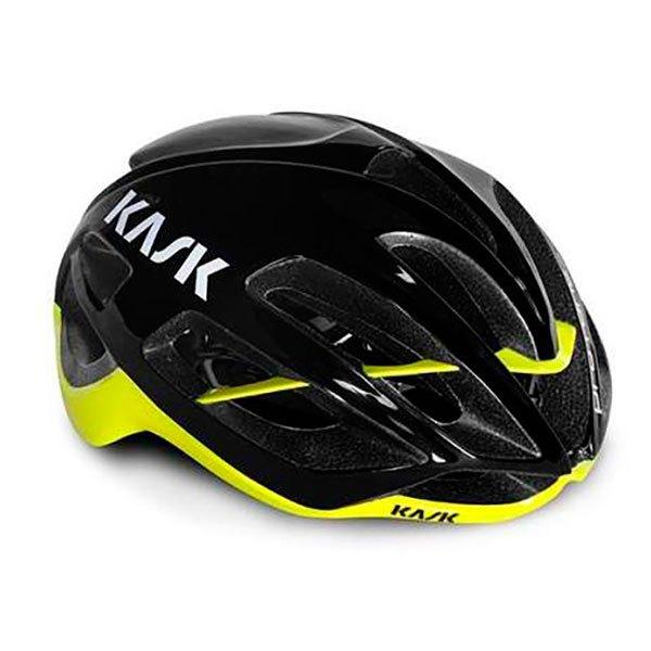 Kask Protone L Black/ Yellow Fluo