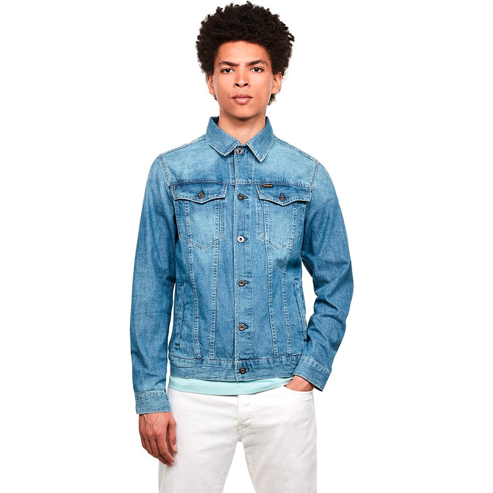 G-star 3301 Slim XS Faded Orion Blue