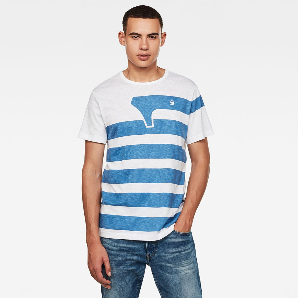 G-star One Stripes Gr XS White
