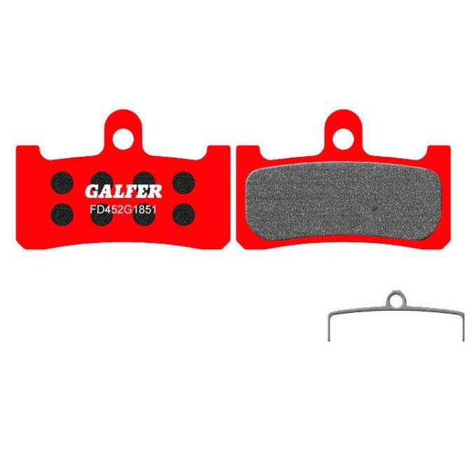Galfer Hope M4 Advanced Brake Pad One Size Black