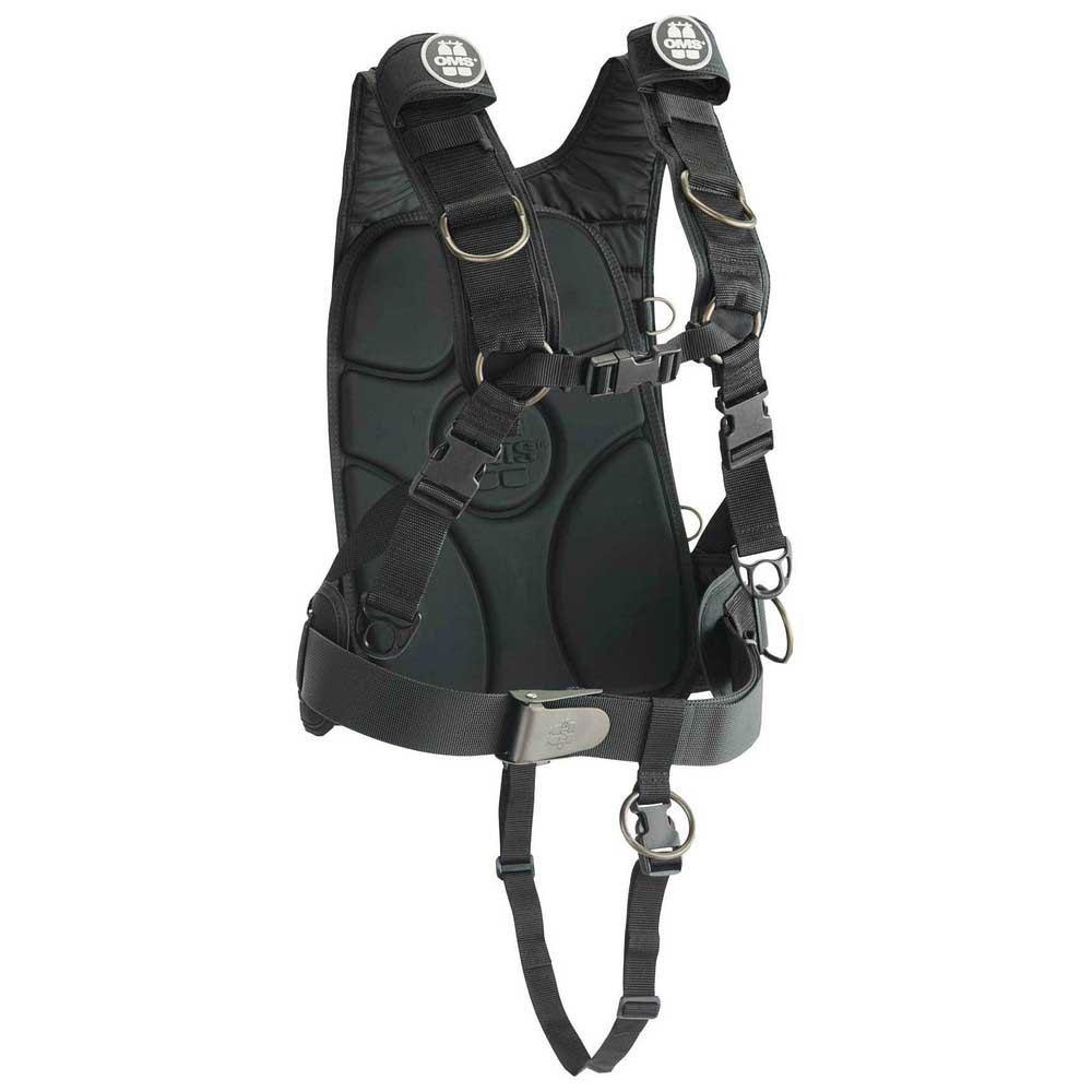Oms Iq Lite Backpack Black Einzelteile Iq Lite Backpack