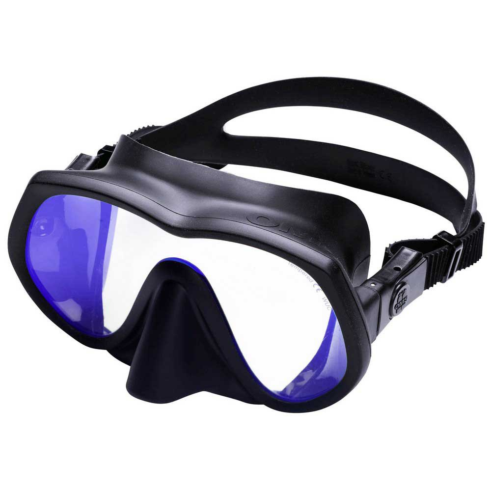 Oms Tatto Asian Uv Protection Tauchermaske Black Tauchmasken Tatto Asian Uv Protection Tauchermaske