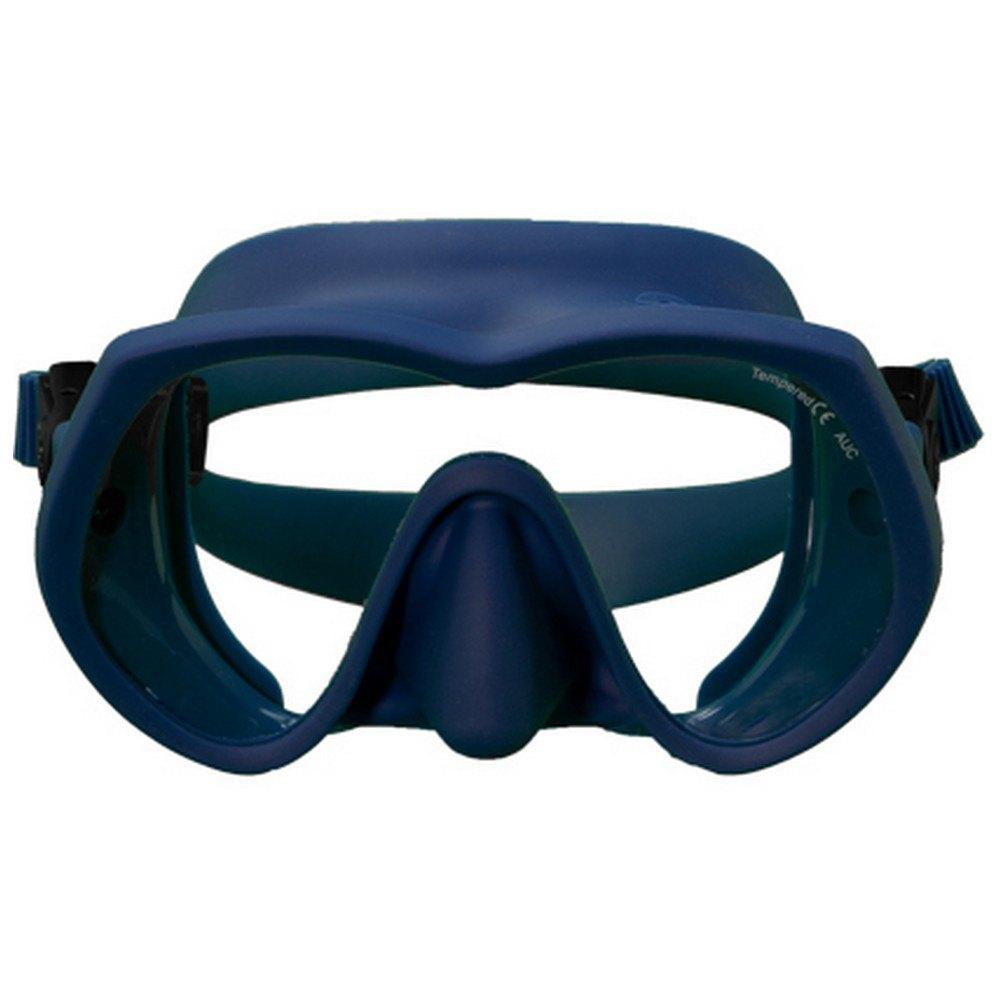 Oms Tatto Asian Uv Protection Tauchermaske Ocean Blue Tauchmasken Tatto Asian Uv Protection Tauchermaske