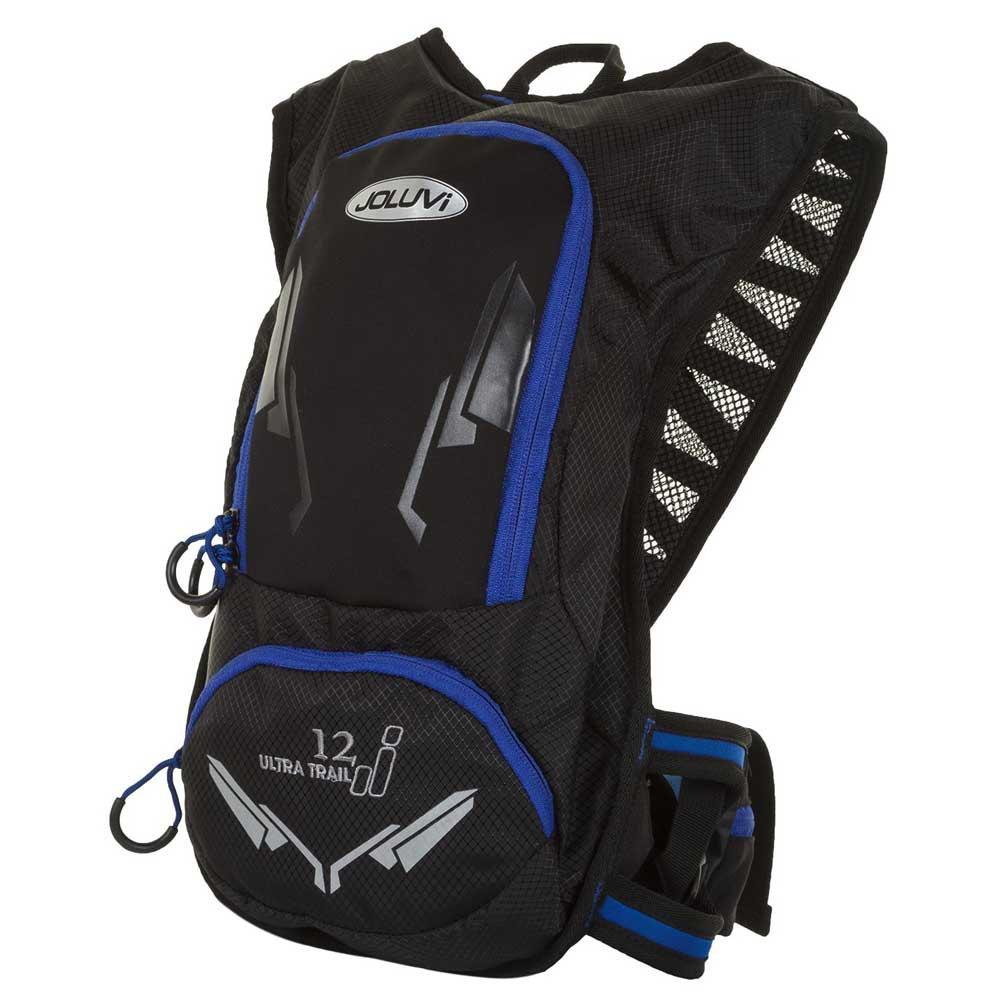 Joluvi Ultra Trail 12l Backpack One Size Black / Royal Blue