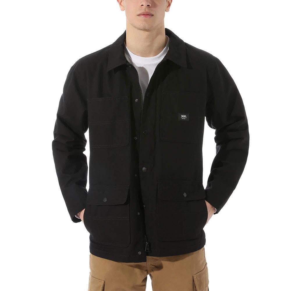 Vans Drill Chore Coat Lined L Black
