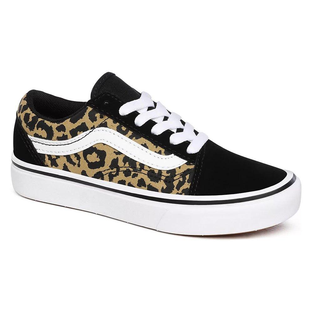 Vans Comfycush Old Skool Young EU 34 Leopard Black / True White