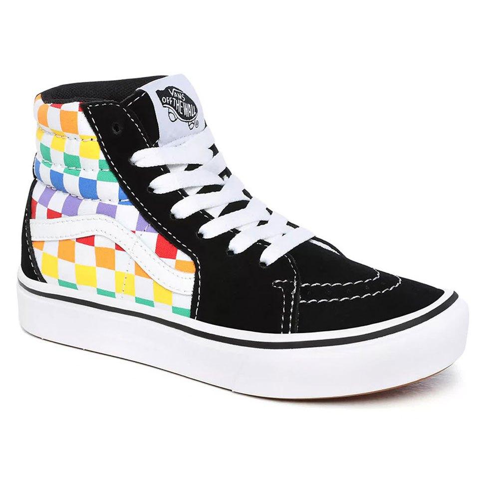 Vans Comfycush Sk8-hi Youth EU 30 Rainbow